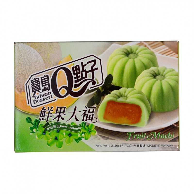 Mochis Fourré au melon Hamo 210g - 6 pièces