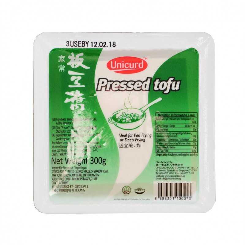 Tofu pressé (ferme) - unicurd 300g