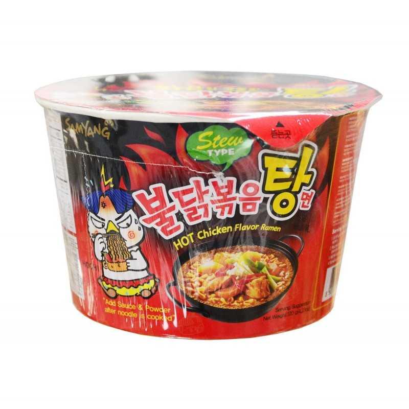 BULDAK BOKKEUM MYUN Soupe de Nouilles Piquante au Poulet BOL- 120g