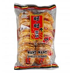 Craquelin de riz piquant - Want Want 150g