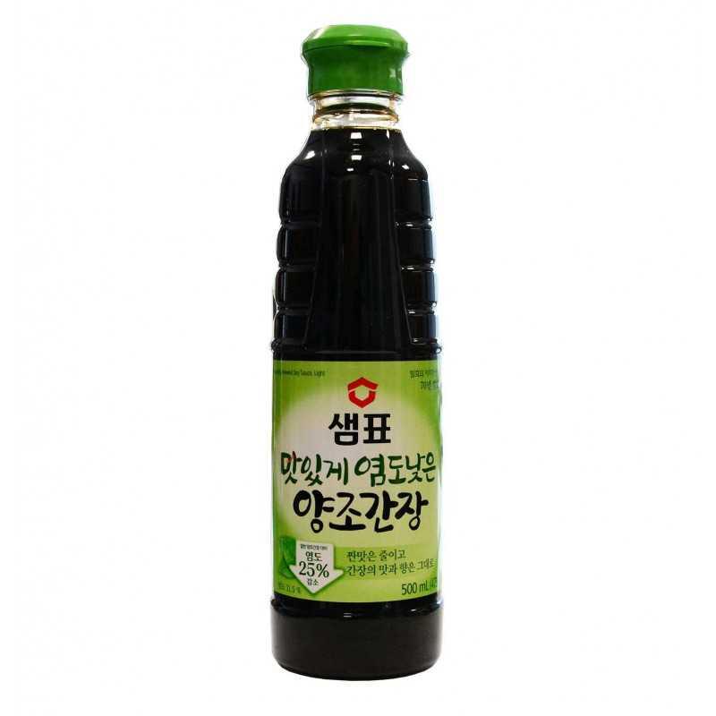 Sauce Soja faible teneur en sel - SEMPIO 500ml