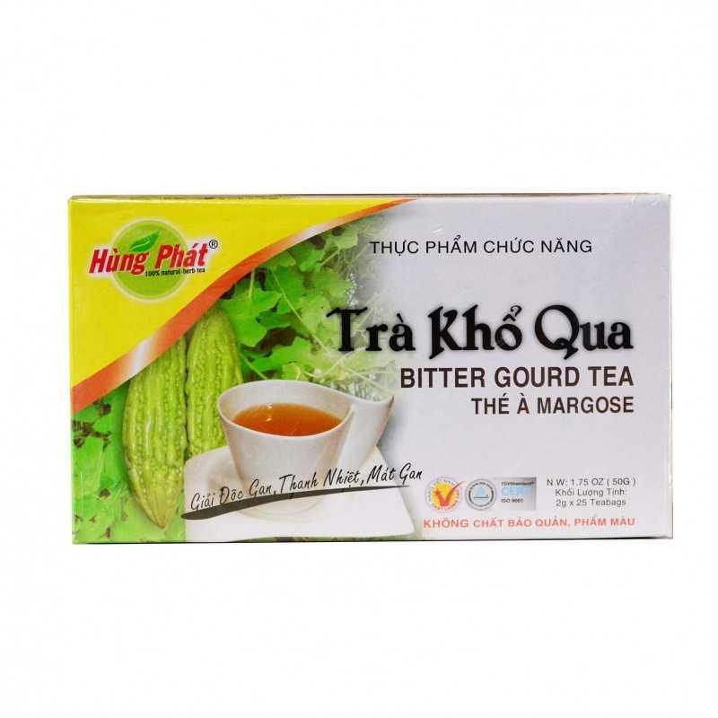 Thé de margose (concombre amer) en sachet infusion - 25x2g