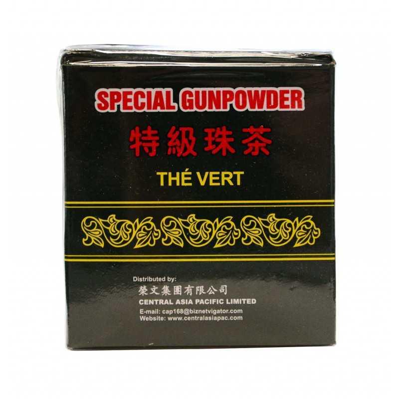 Thé vert spécial Gunpowder - CAP 125g