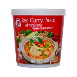 Pâte de curry rouge - Cock brand 400g
