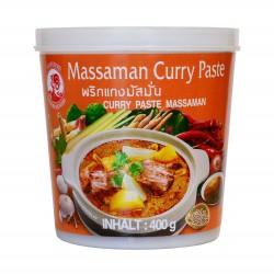 Pâte de curry Massaman - Cock brand 400g