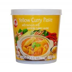 Pâte de curry jaune - Cock brand 400g