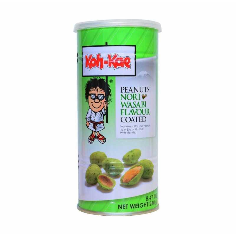 Cacahuètes enrobées nori et wasabi - Koh-kae 240g