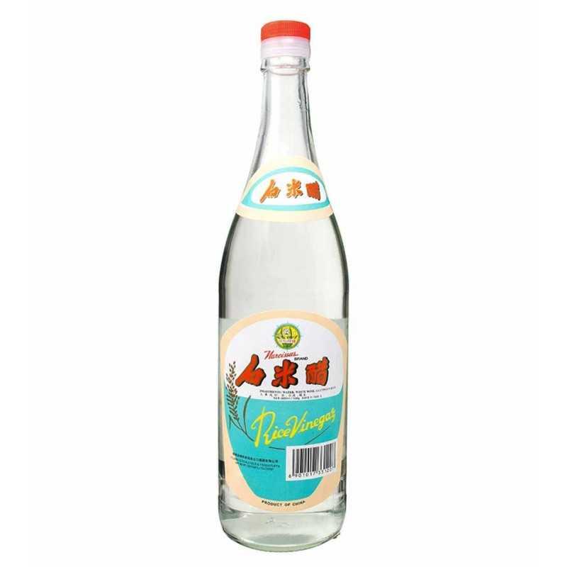 Vinaigre de riz blanc (4.6% d'acidité) - Narcissus - 250ml