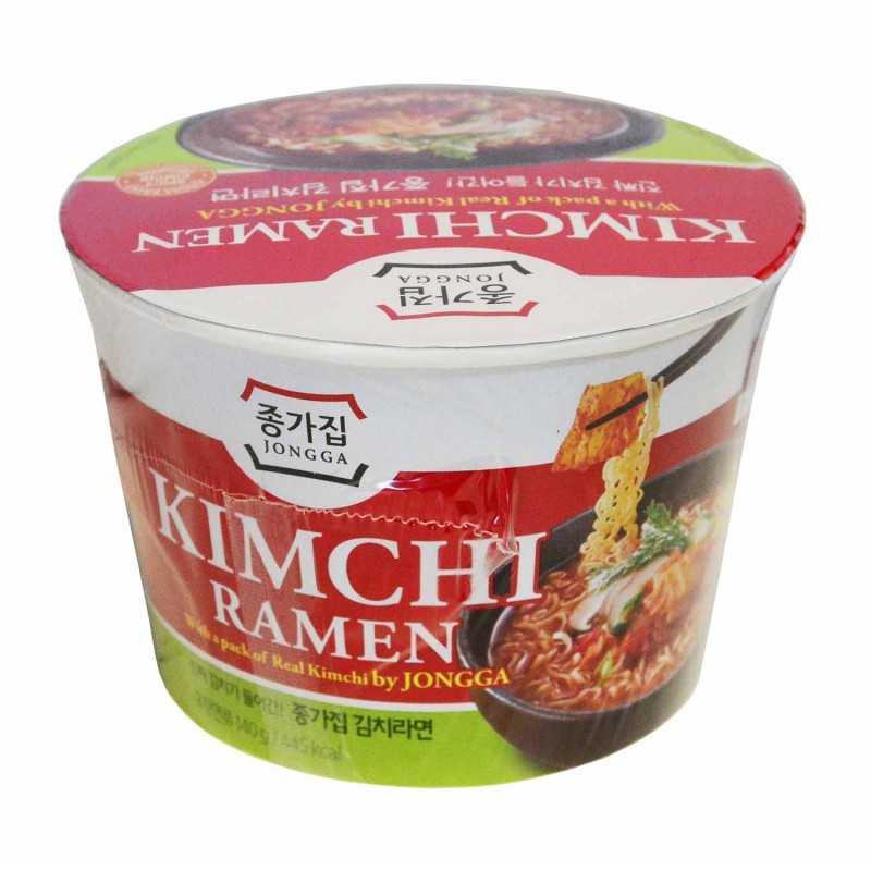 Kimchi Ramen - Nouilles au Kimchi grillé - Jongga - 140g