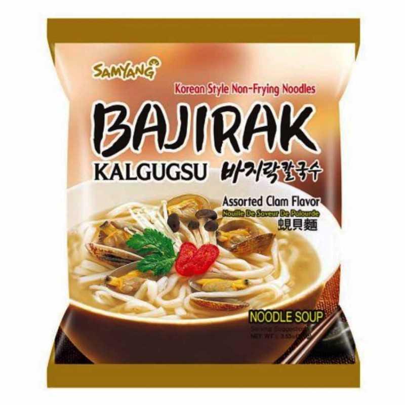 Bajirak Kalgugsu - Nouilles saveur palourde - Samyang 100g