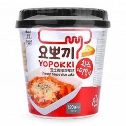 Yopokki cheese : Tteokbokki instantanés fromage - 120g