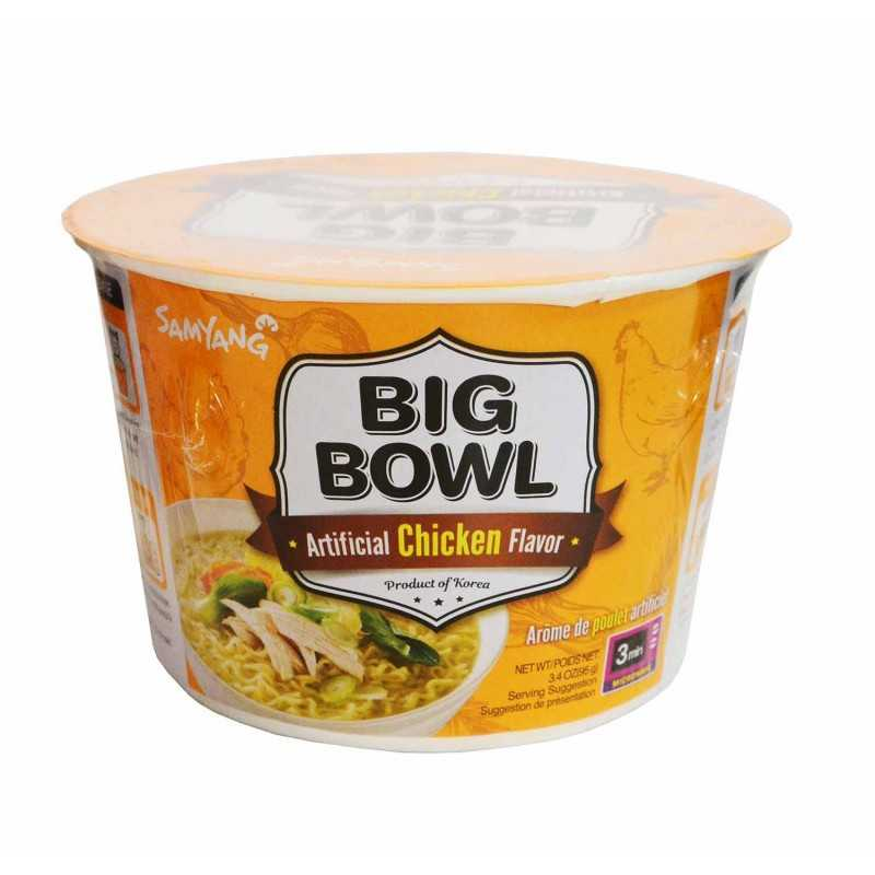 Big Bowl Chicken - Nouilles aux poulet - Samyang 95g