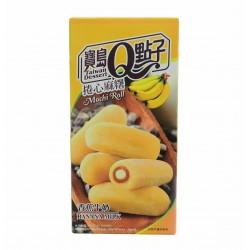 Mochis roulé à la banane et au lait - 150g - 5 pièces