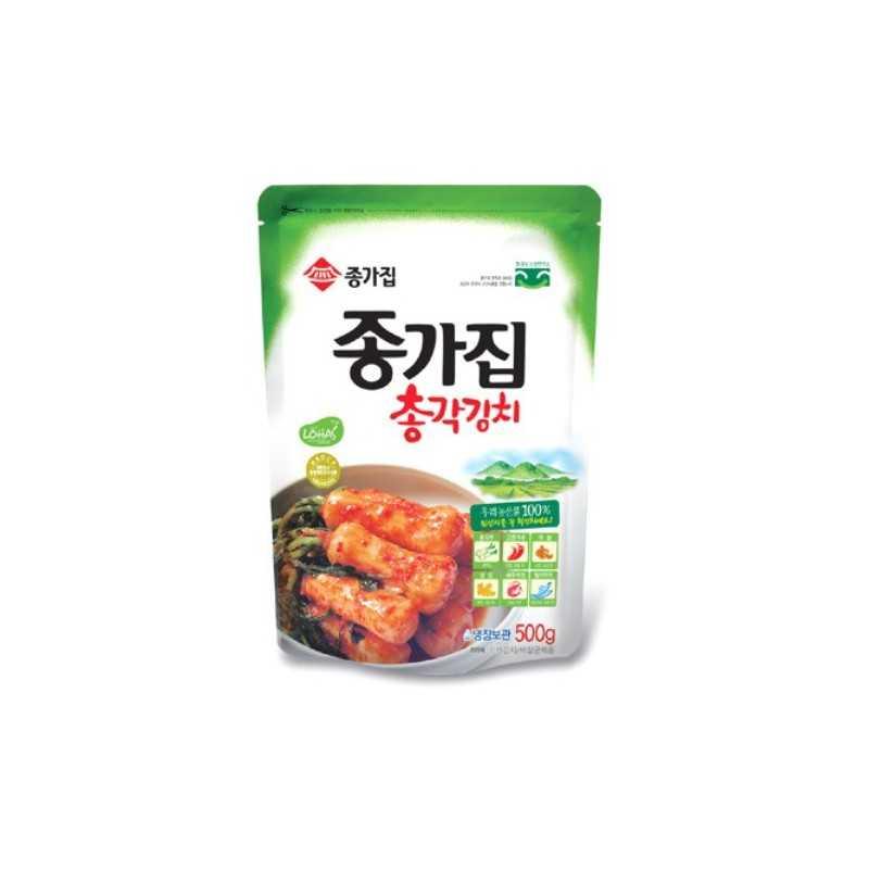 CHONGGAK KIMCHI : Kimchi de Radis BLANC