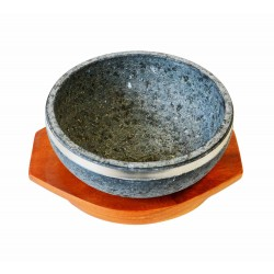 Dolsol - Plat en pierre pour Dolsot Bibimpab - Dia 20cm