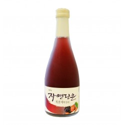 Bokbunja Makgeolli: Alcool de riz fermenté et mûres - 360ml