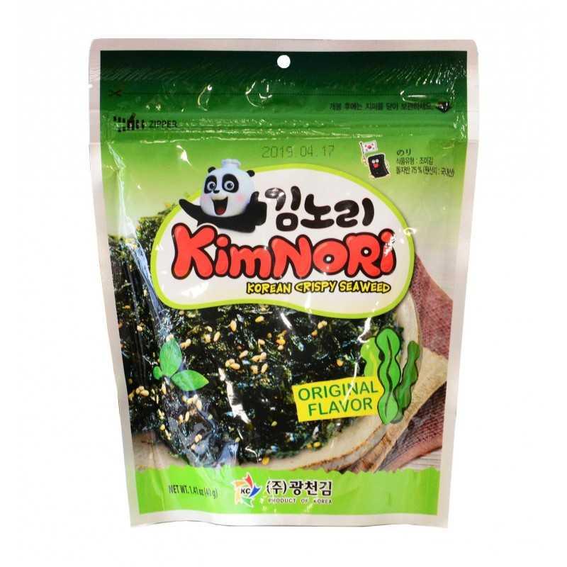 Kimnori Original: Algues croustillante - KWANG-CHUN 40g
