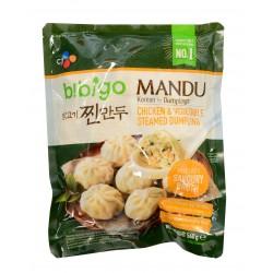 Mandu - raviole poulet et légume-B!bigo-560g
