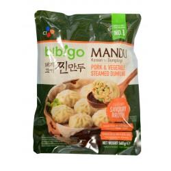 dumpling-raviole vapeur au porc et légume-b!bigo- 560g
