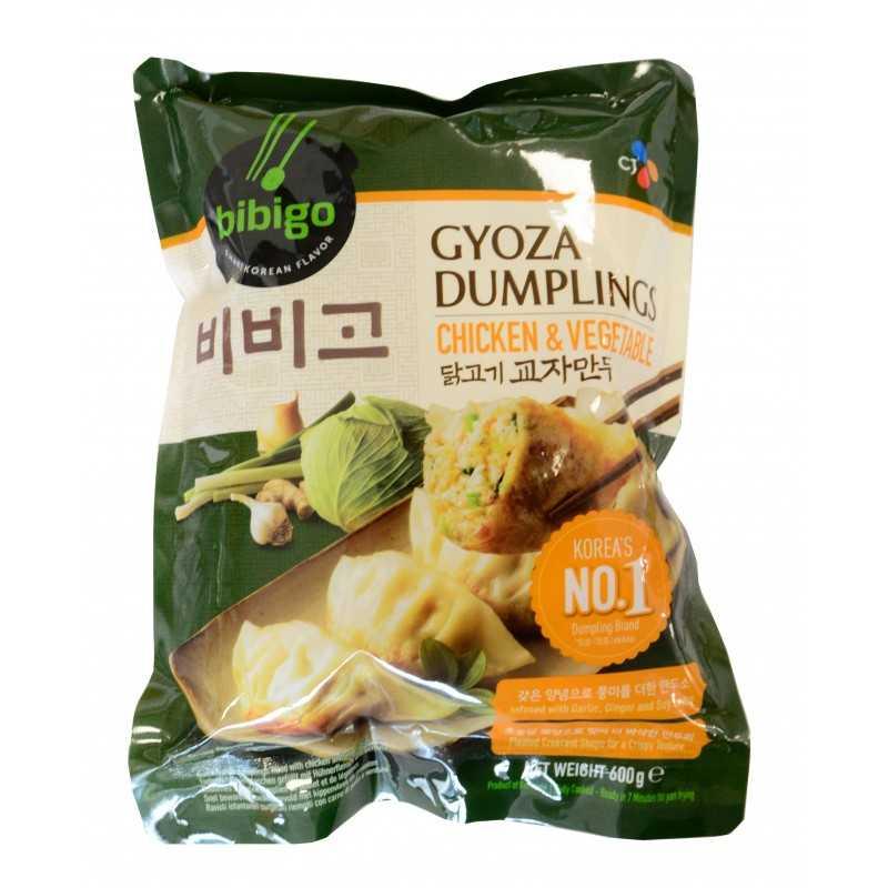 MANDU GYOZA - Raviole au poulet et légumes - B!bigo 600G