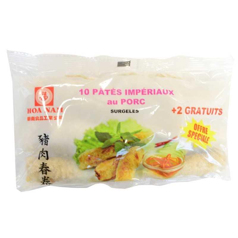 Pâté impérial au poulet -10+2piece- Hoa Nam 450g