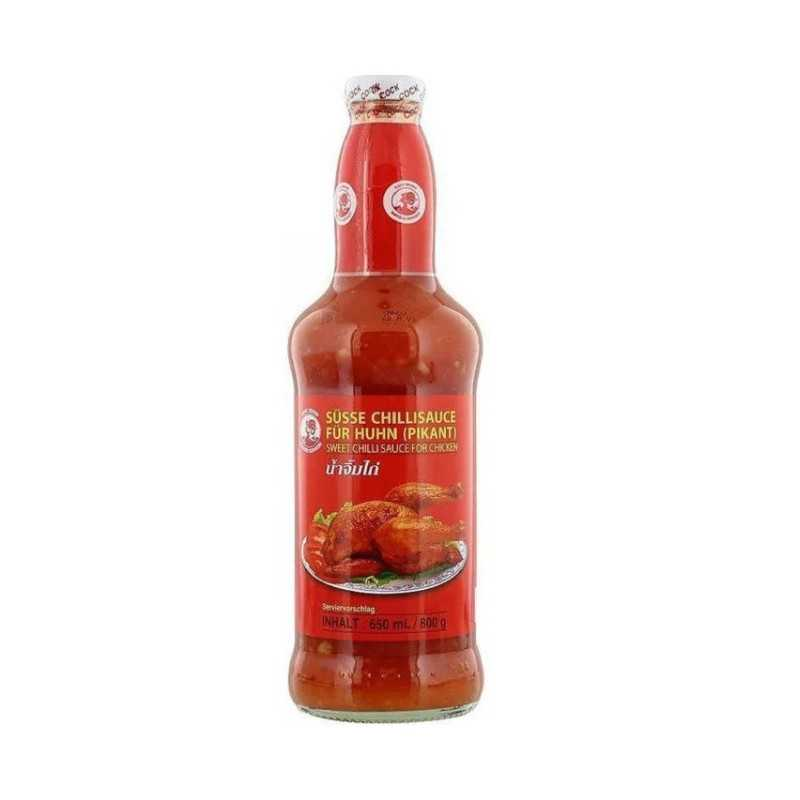 SWEET CHILI SAUCE - Pour poulet - Cock brand- 650 mL