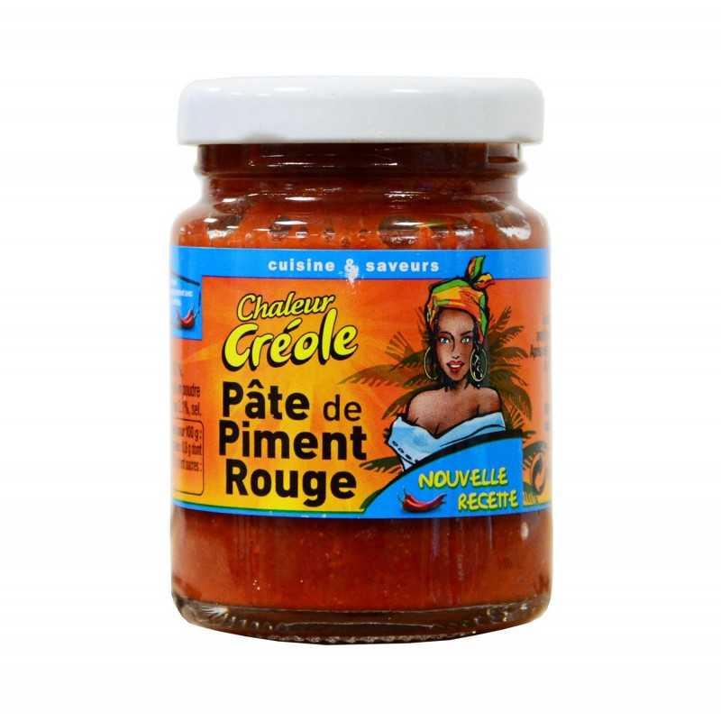 Pâte de piment rouge - Chaleur créole 100g