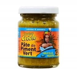 Pâte de piment vert - Chaleur créole 100g