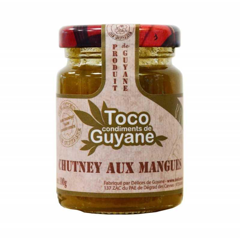 Chutney aux mangues -Toco 100g