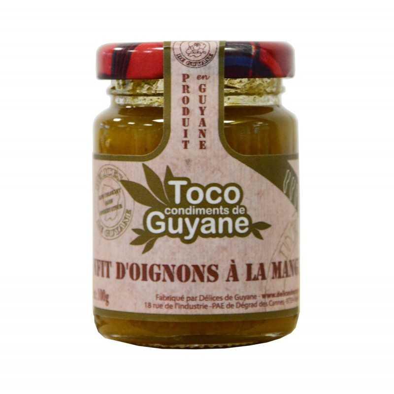 Confit d'oignons à la mangue - Toco 100g