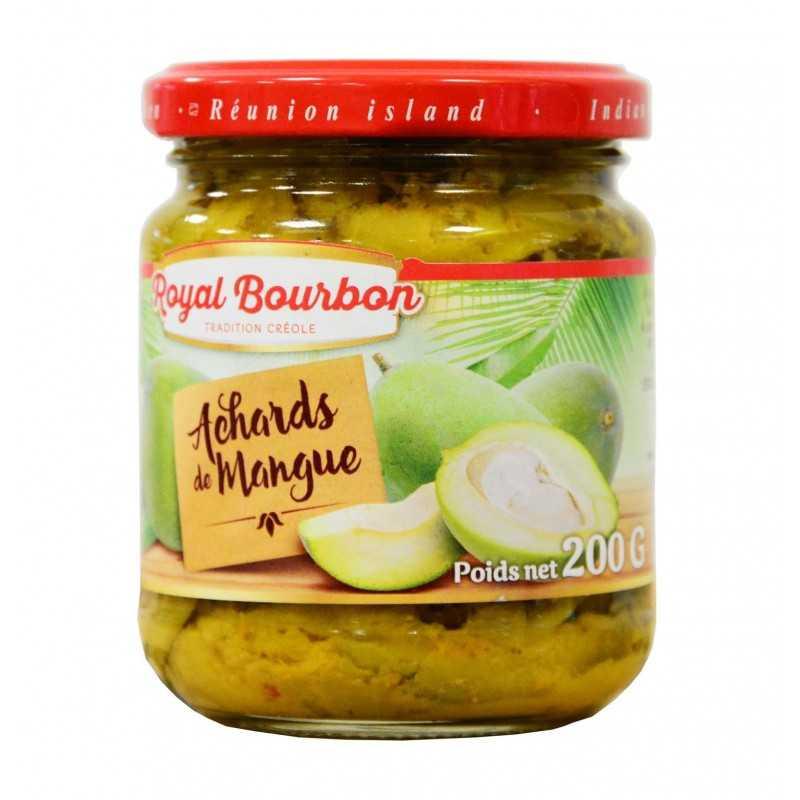 Achards de mangues - Royal bourbon 200g