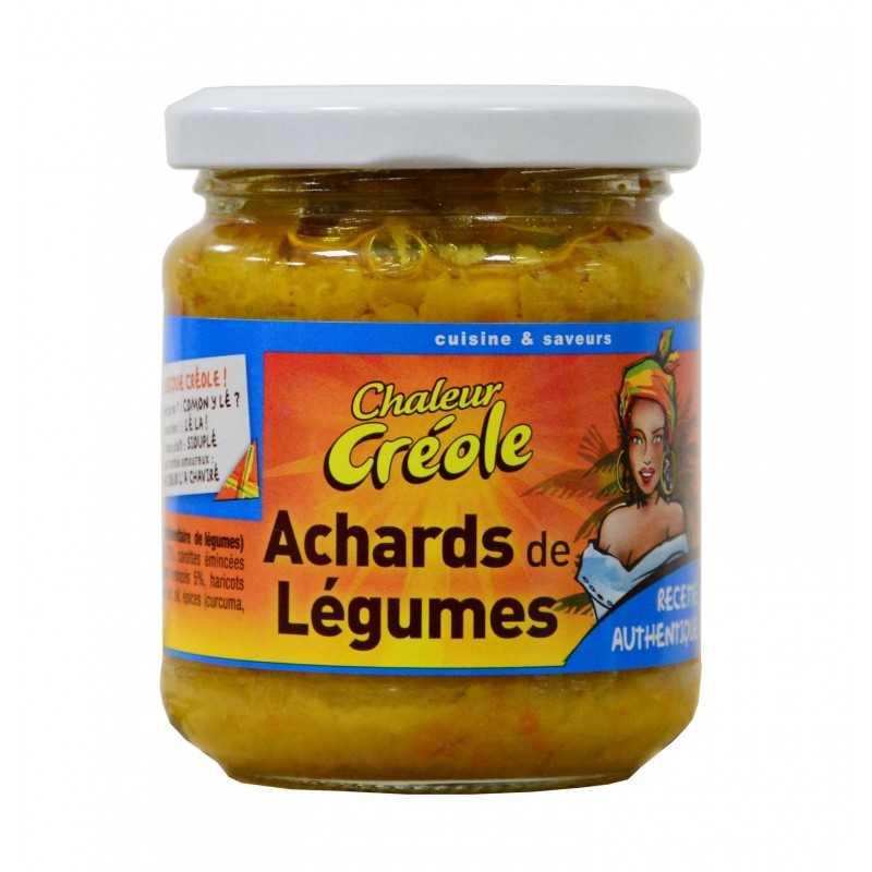 Achard légumes - Chaleur créole 200g