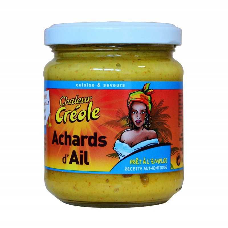 Achards d'ail - Chaleur créole 200g