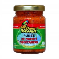 Purée de piments végétariens - Dame Besson 90g