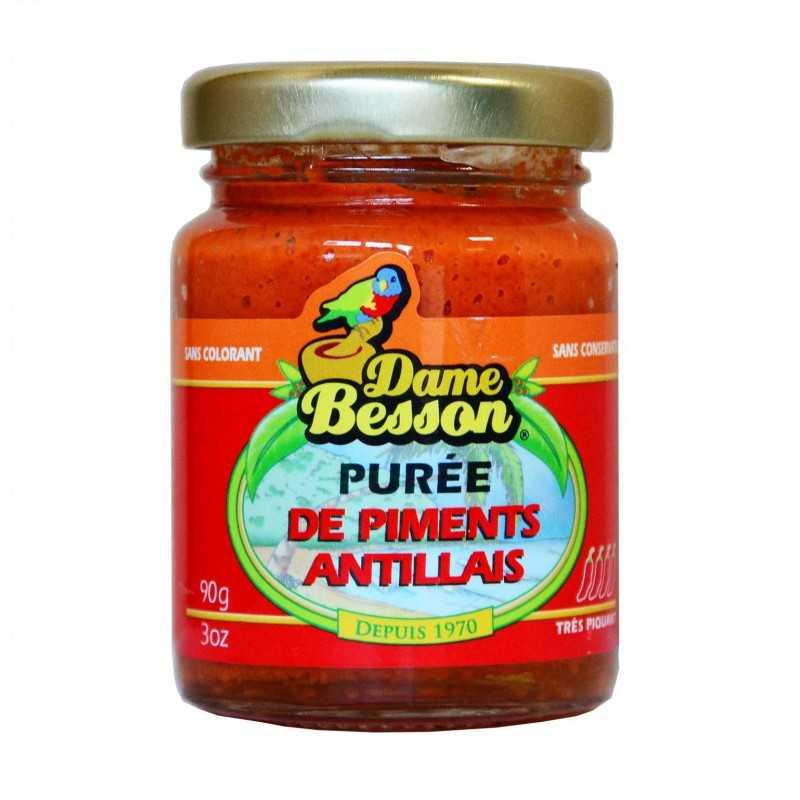 Purée de piments antillais - Dame Bessons 90g