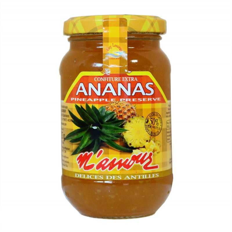 Confiture ananas - Mamour 325g