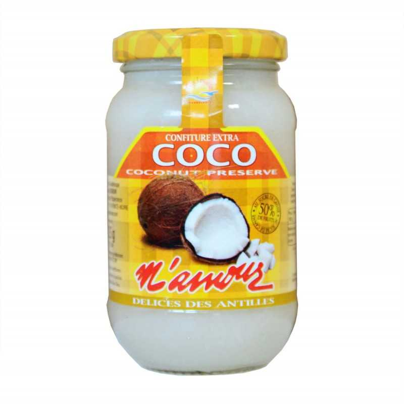 Confiture coco - Mamour 325g
