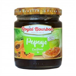 Confiture Papaye - Royal bourbon 250g