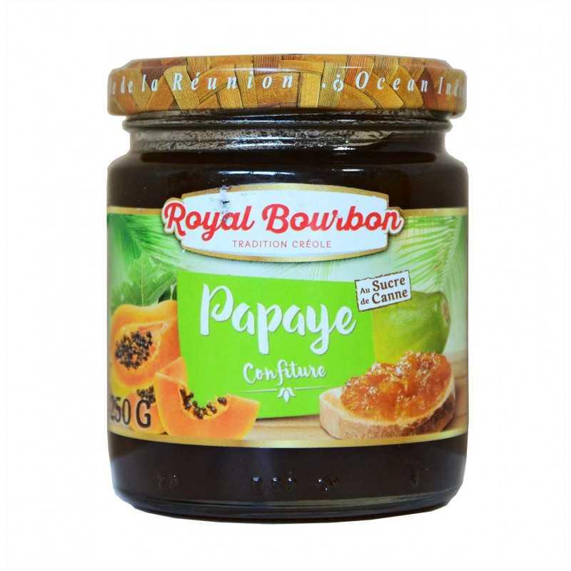 Confiture Papaye - Royal bourbon 250g