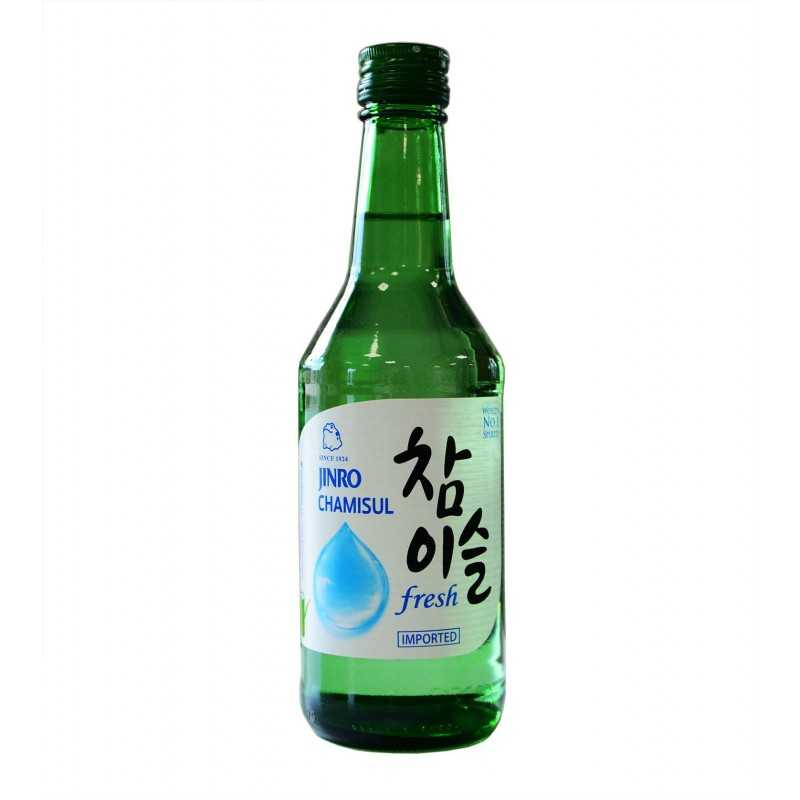 JINRO CHAMISUL SOJU 17.2% : Soju Coréen Traditionnel 350ml