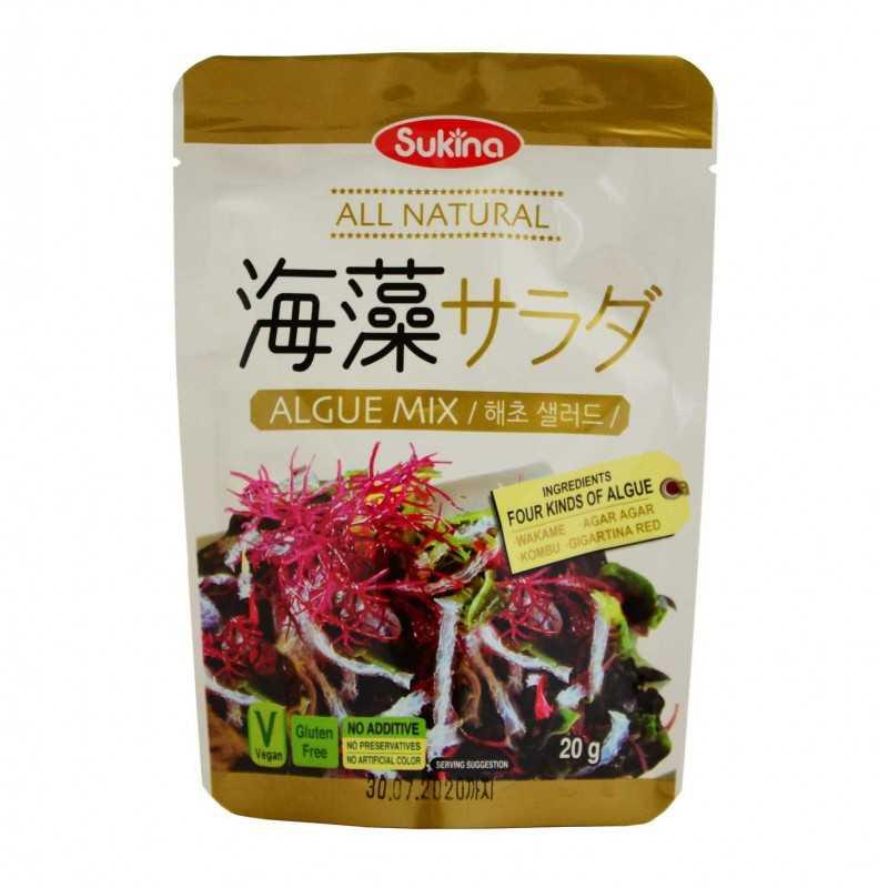 Mélange d'algues pour salade - Sukina 20g