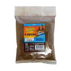 Quatre épices - Chaleur créole 100g