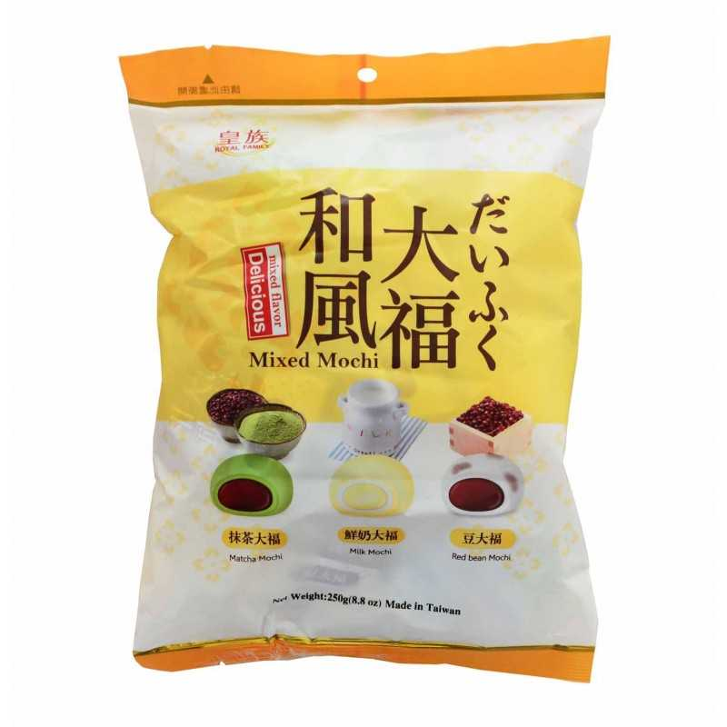 Assortiment de mini mochis - Taiwan Dessert 250g