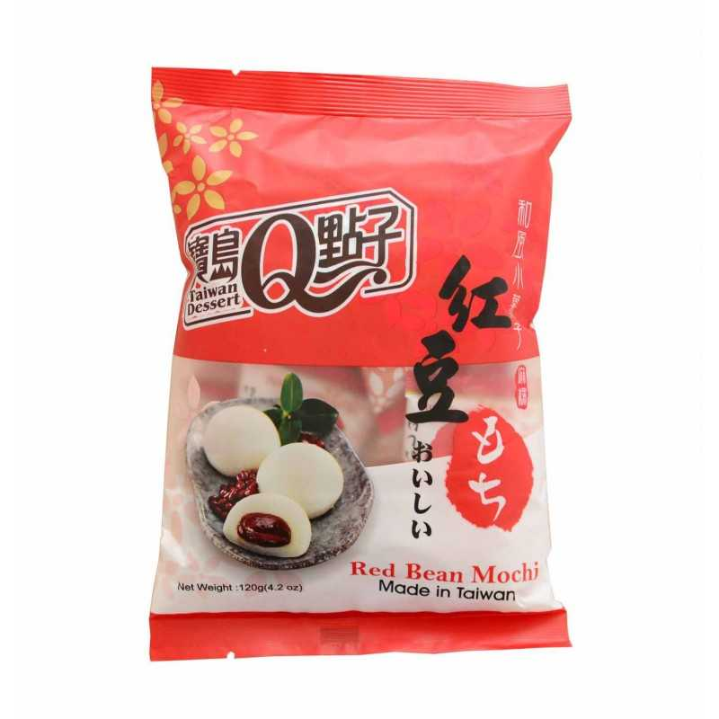 Mini mochis à la pâte de haricot rouge - Taiwan Dessert 120g