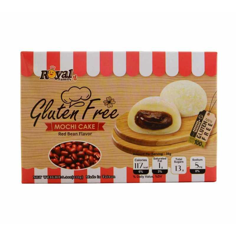 Mochi pâte de haricots rouge sans gluten - Taiwan Dessert 210g
