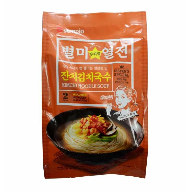 Kimchi Guksu : Nouilles au Kimchi - Sempio 342g