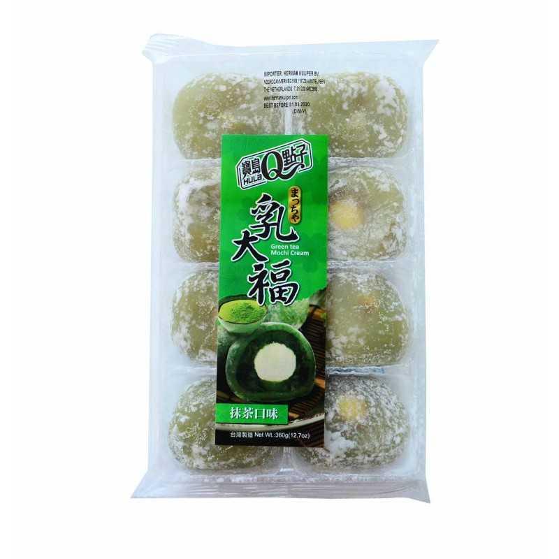 Mochis matcha et crême - Taiwan Dessert - 360g - 8 pièces