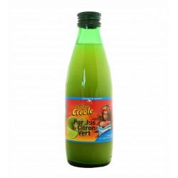 Pur jus de citron vert - Chaleur Créole 250ml