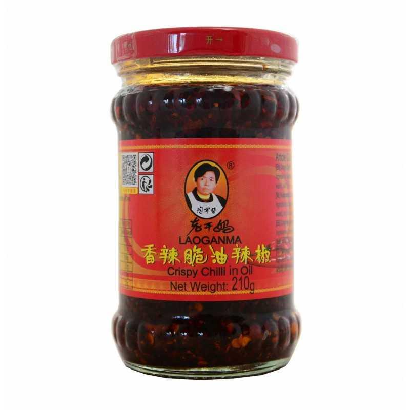 Piment Croustillant dans de Huile - Lao Gam Ma 210 g