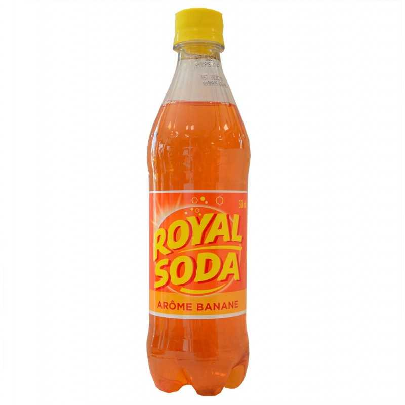Limonade Royal Soda - Banane 50 cl